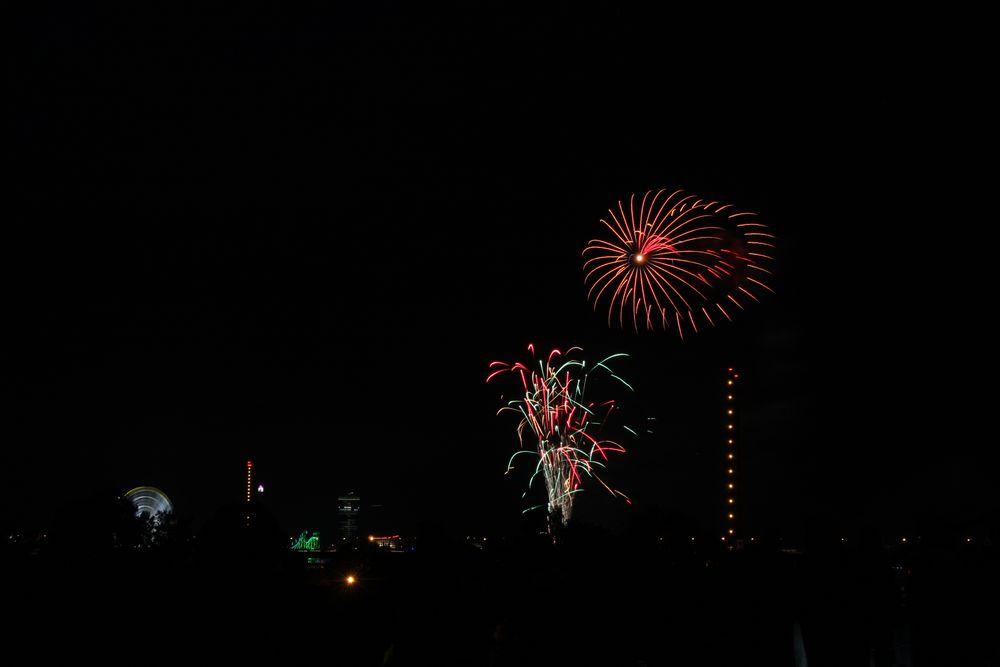 Kirmes-Feuerwerk