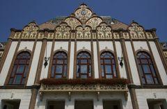 Kiskunfélegyháza - Fassade Detail (Bürgerhaus)