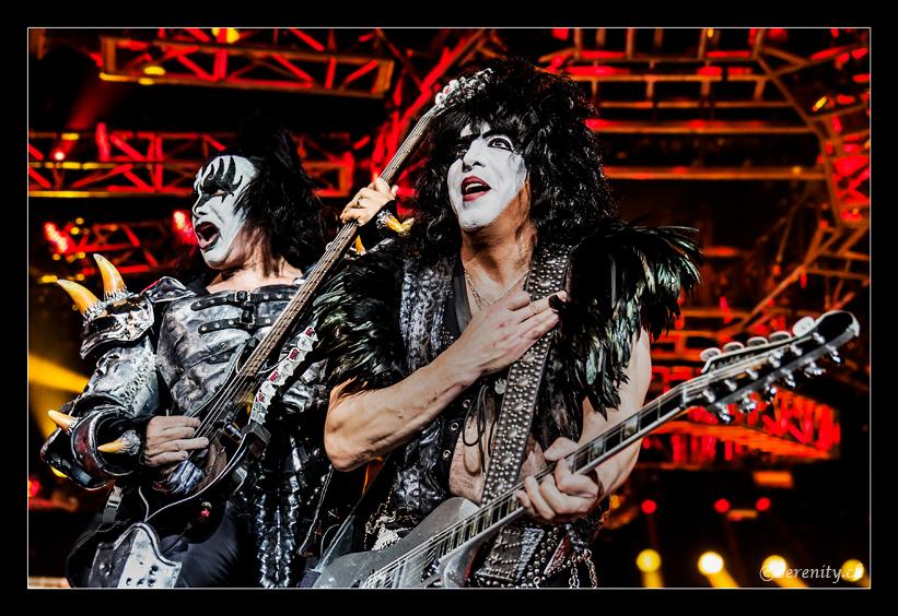 Kiss @ Hallenstadion, Zürich