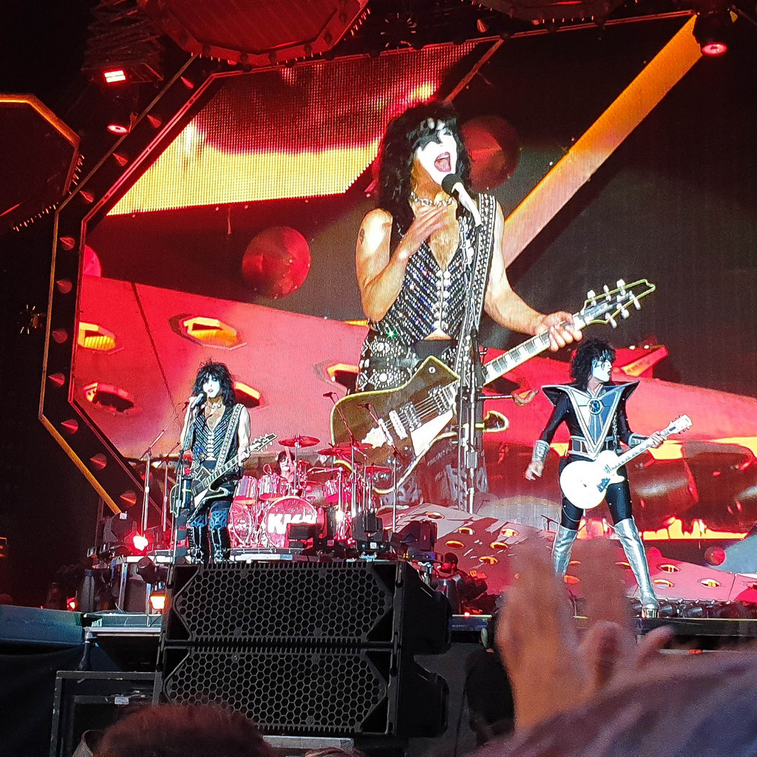 Kiss Konzert In Iffezheim
