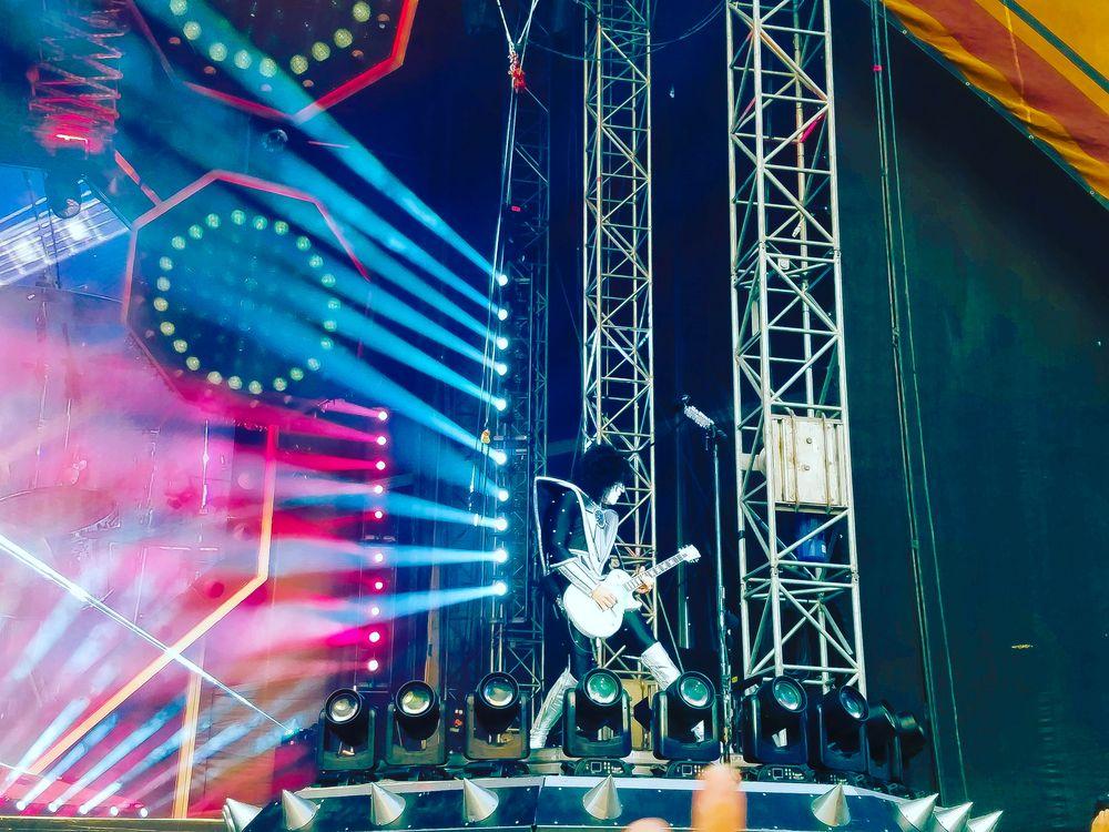 Kiss Konzert Iffezheim