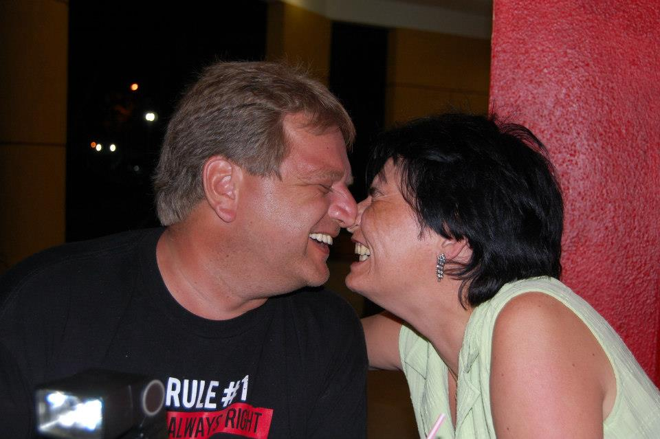Kisses like the Inuits