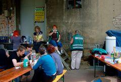 °°°KIT-Verpflegungsstützpunkt in Bad Schandau bei Firma und Familie Hertel °°°