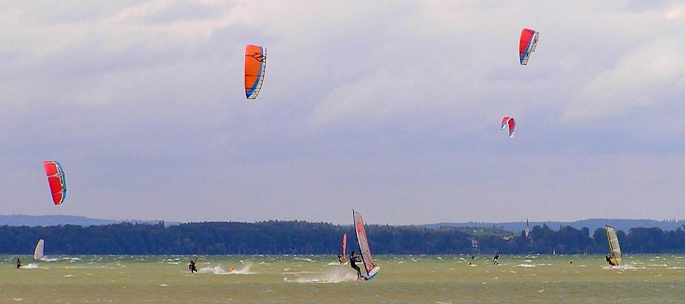 Kite & Surf am Chiemsee