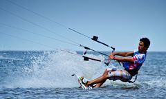 Kite-Surfer in Sankt Peter Ording