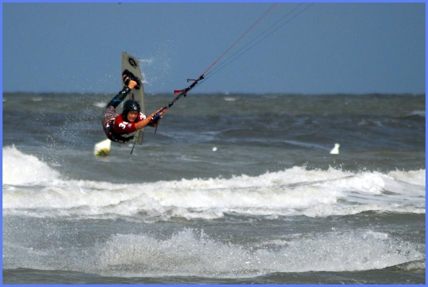 Kite-Surfer Sommer 2008