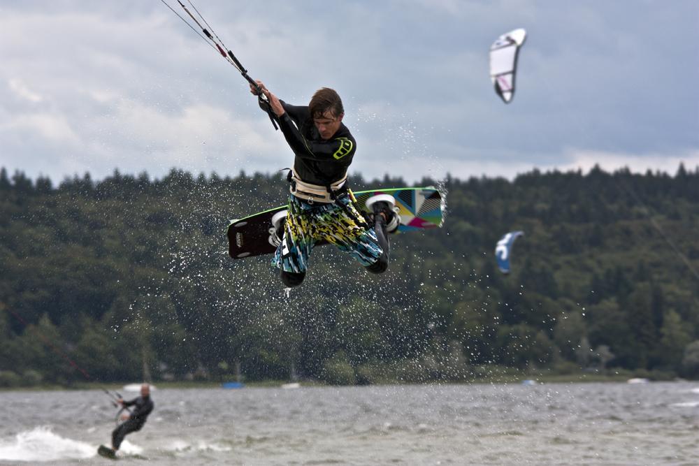 kite surfing - ammersee