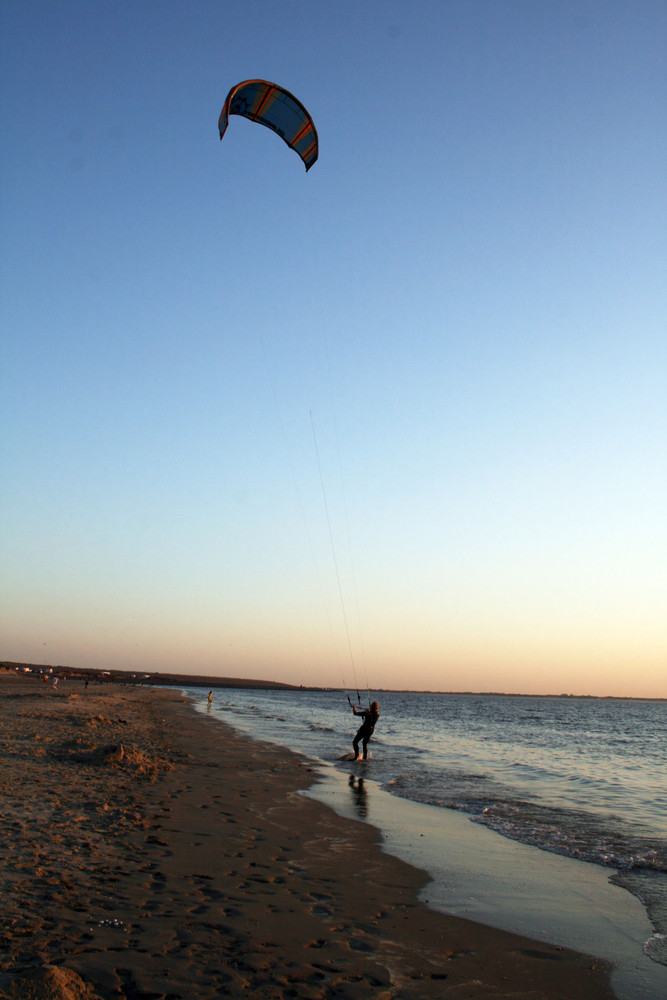 Kiter am Strand 2