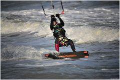 Kitesurf stroke
