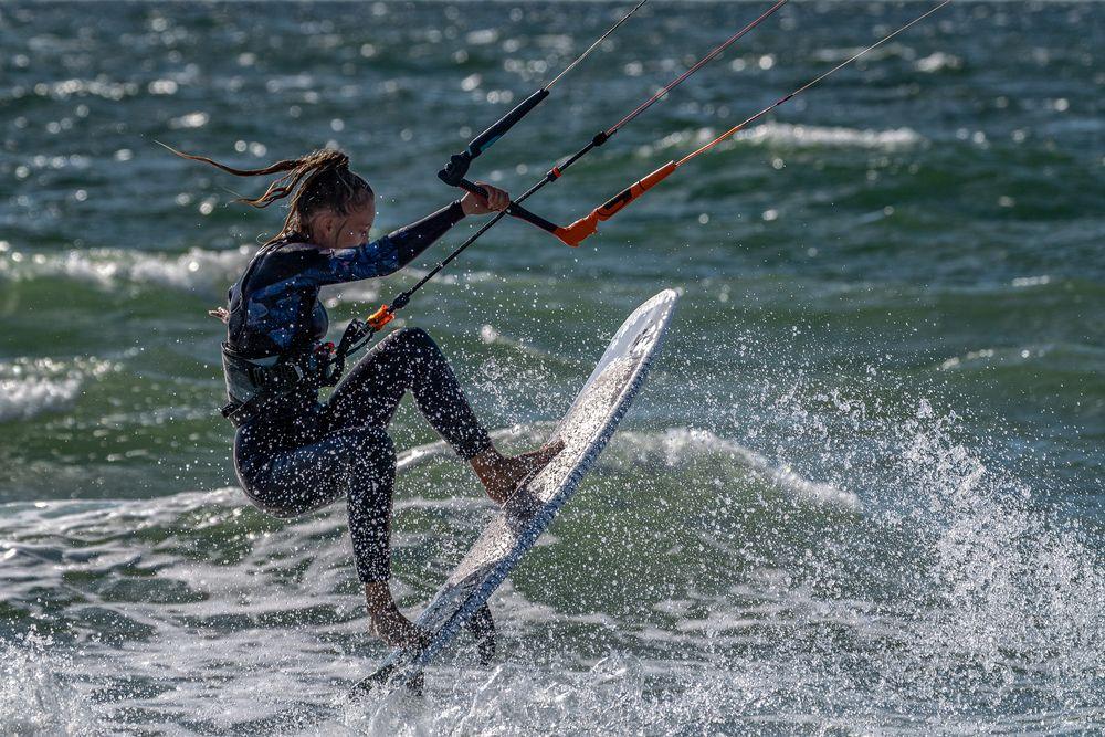 Kitesurfen auf Sylt