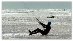 Kitesurfen in St. Peter Ording