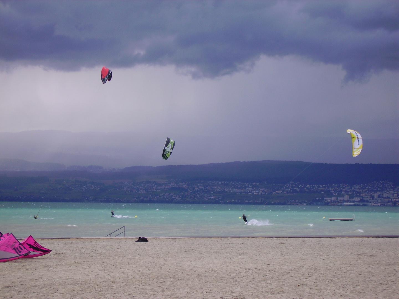 Kitesurfen-Neuenburgersee