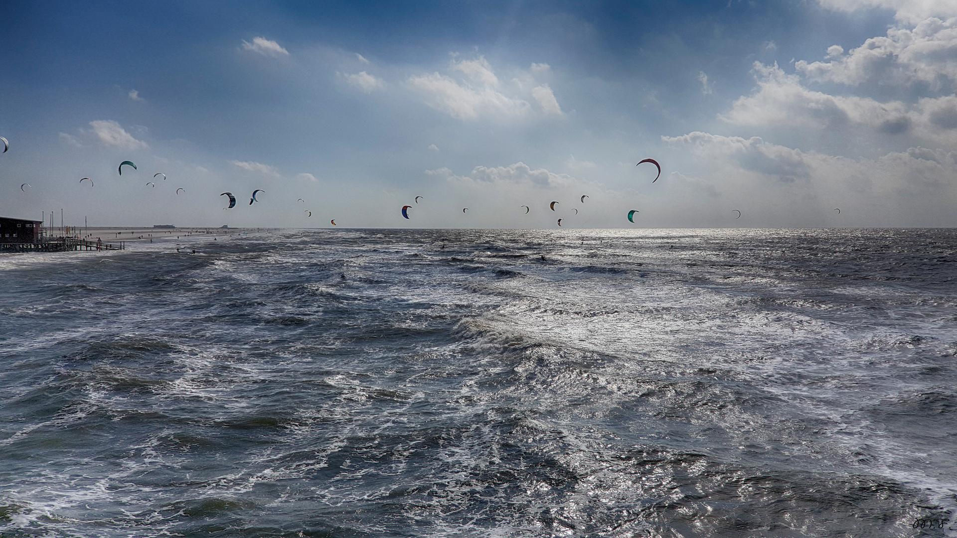 Kitesurfen - Stürmisches Vergnügen - SPO