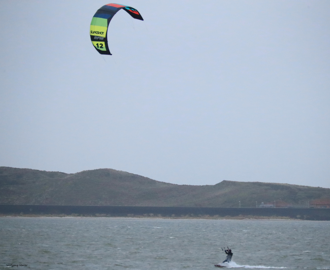 Kitesurfer auf Sylt