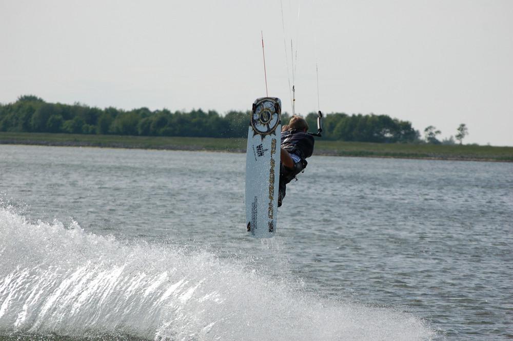 Kitesurfing auf Fehmarn