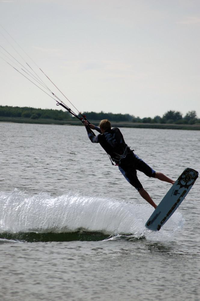 Kitesurfing auf Fehmarn II