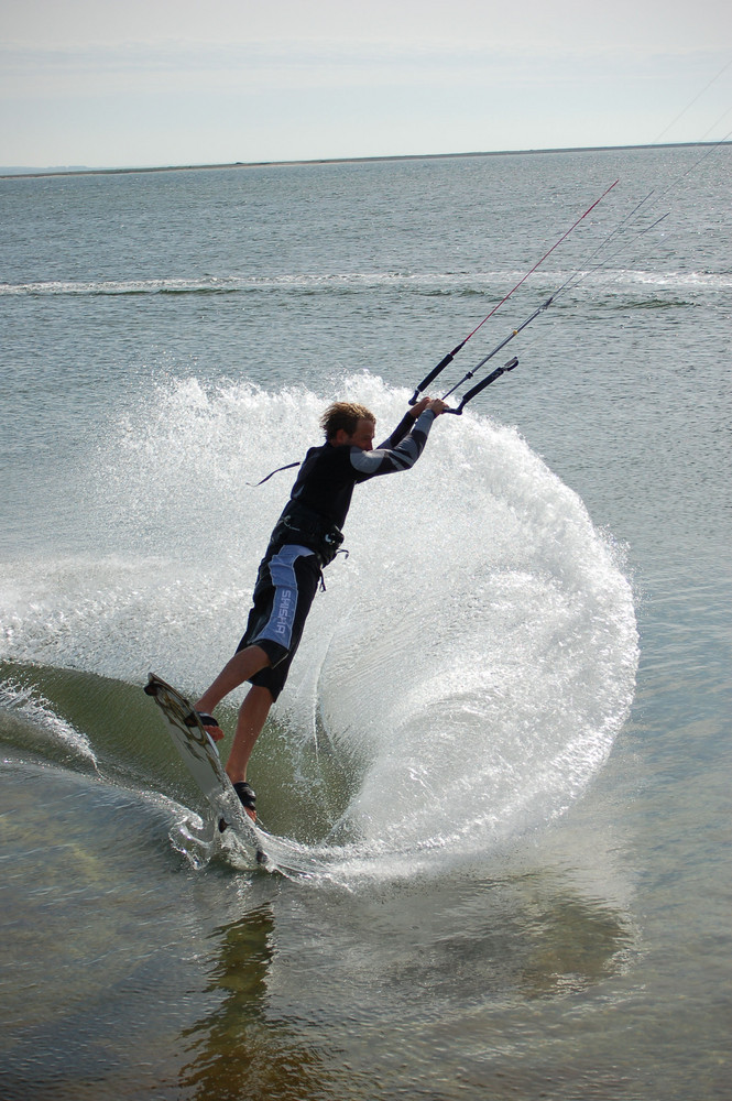 Kitesurfing auf Fehmarn III