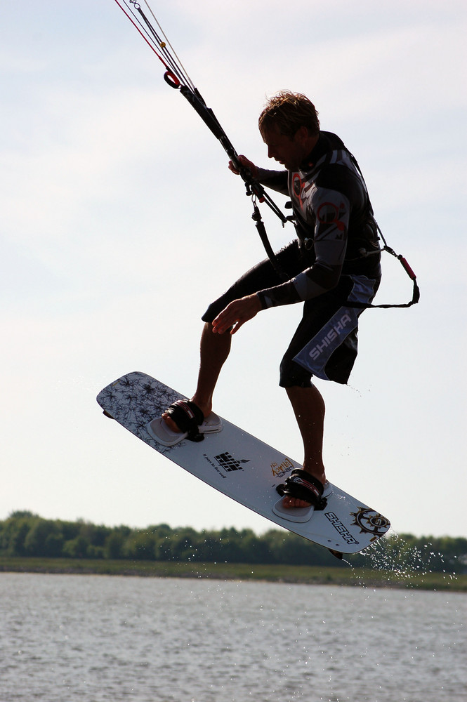 Kitesurfing auf Fehmarn V