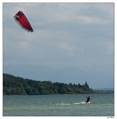 Kiting am Ammersee