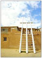 Kiva - Acoma Pueblo, New Mexico; USA