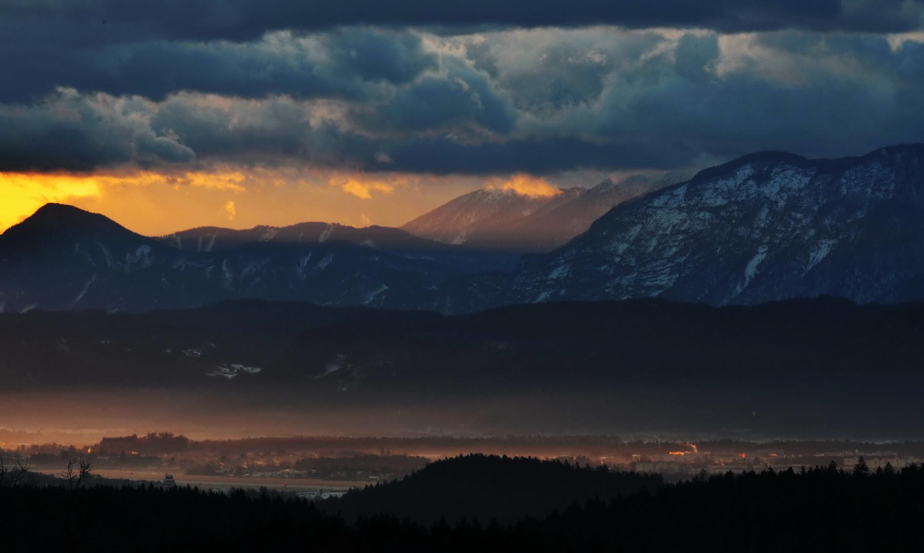 Klagenfurt erwacht...