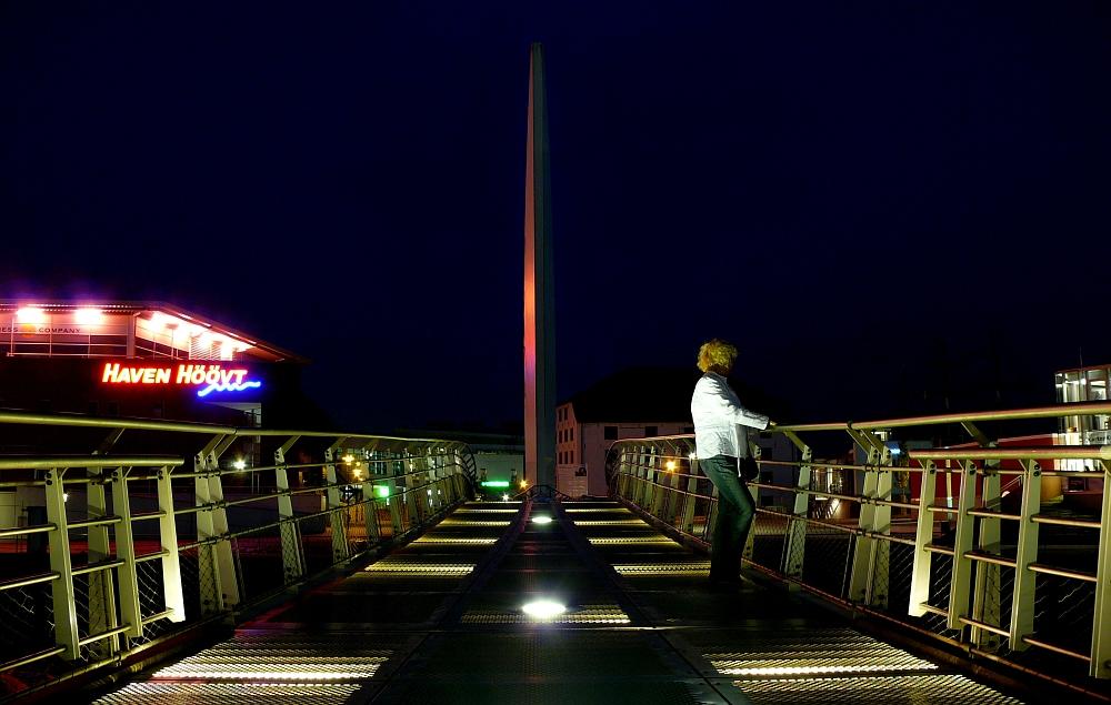 Klappbrücke / Wippbrücke