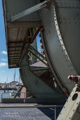 Klappbrücken Detailaufnahme