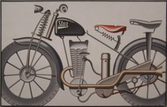 Klappheck's Motorrad