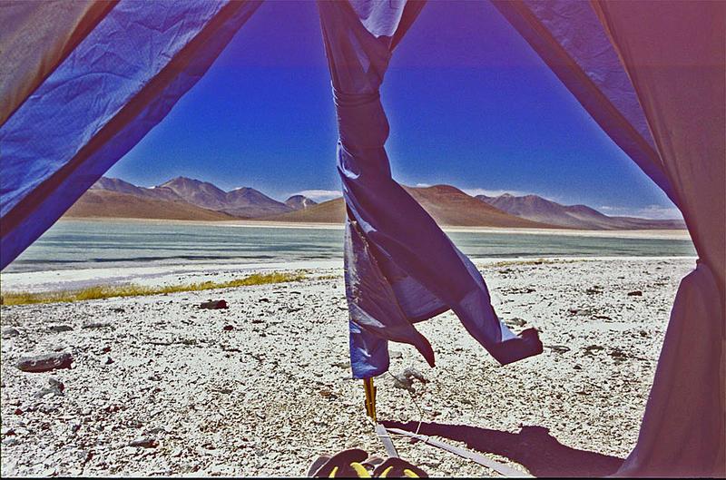 Klare und trockene Luft in der Atacama Wüste