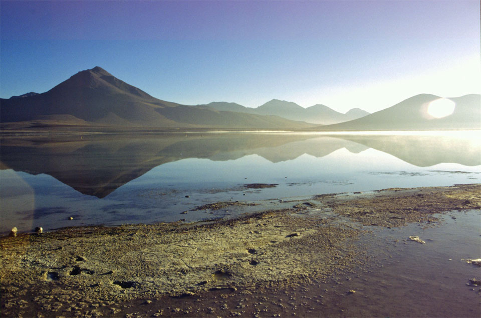 klares Wasser klare Luft am laguna verde