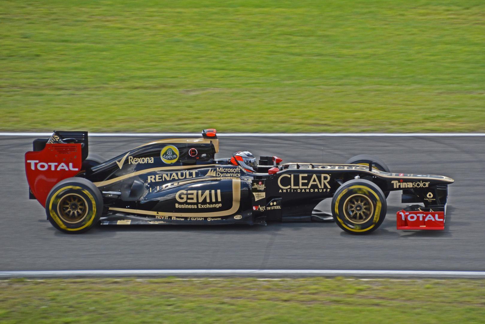 Klasse Saison für Kimi