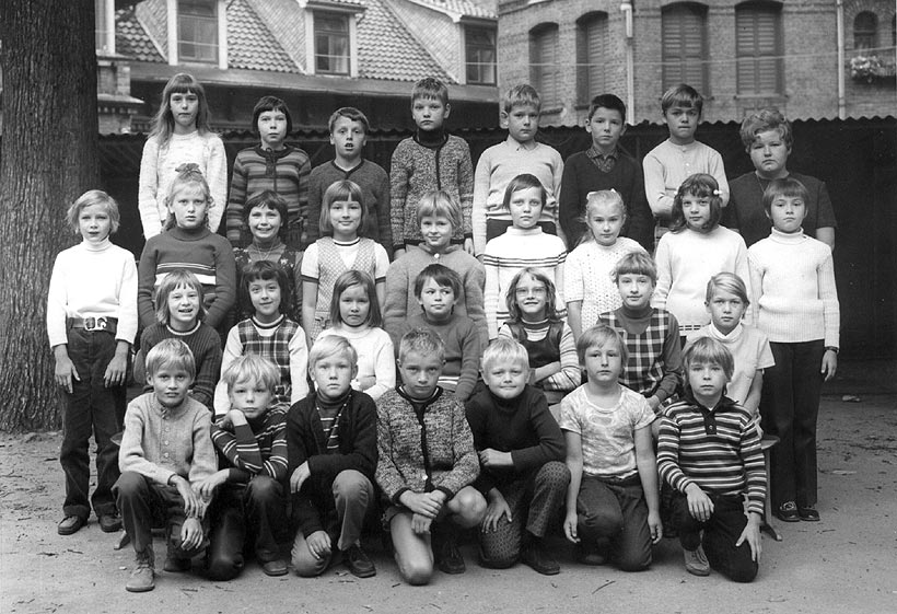 Klassenfoto 1972