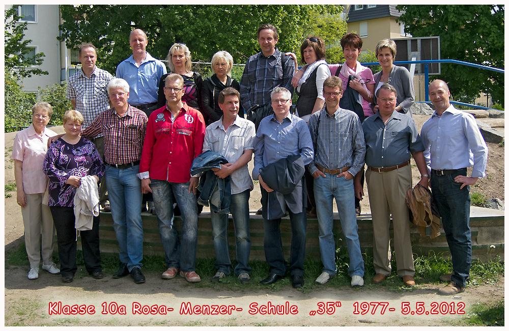 """Klassentreffen 5.5.2012- """"35 Jahre"""""""