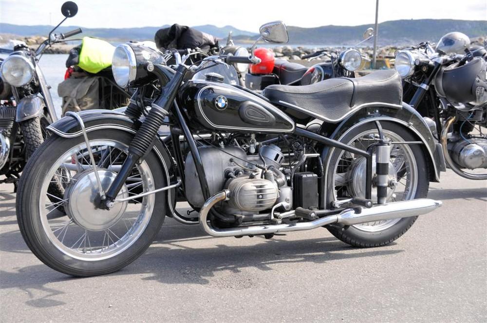 Klassische Motorraeder in Norwegen 5