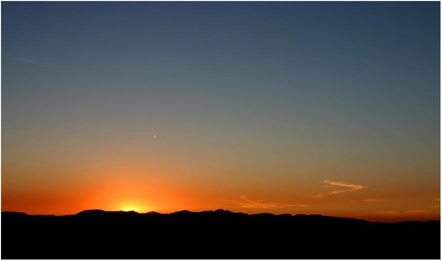 Klassischer Sonnenuntergang...