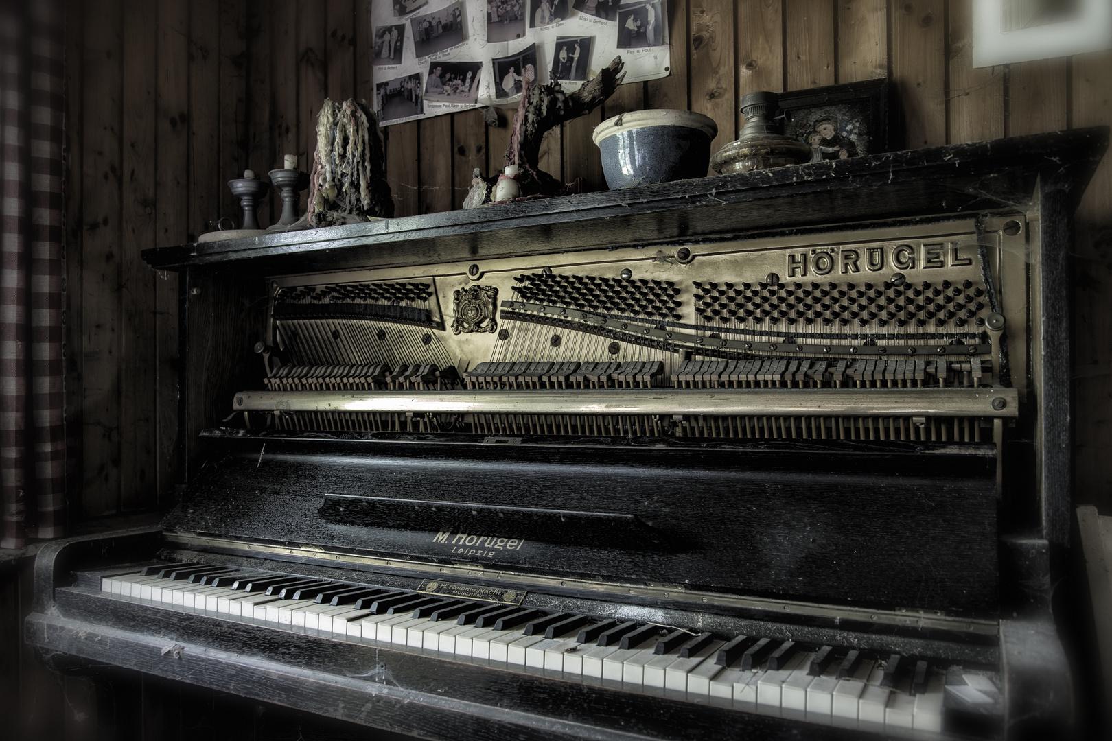 Klavier im Ruhestand