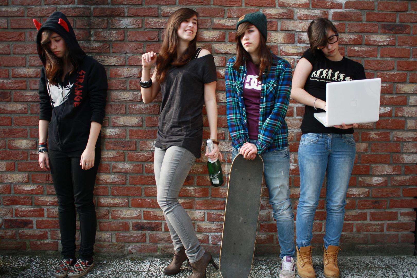 kleider machen leute foto & bild | menschen, street, youth