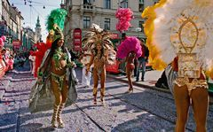Klein Rio beim Faschingsumzug in Graz!