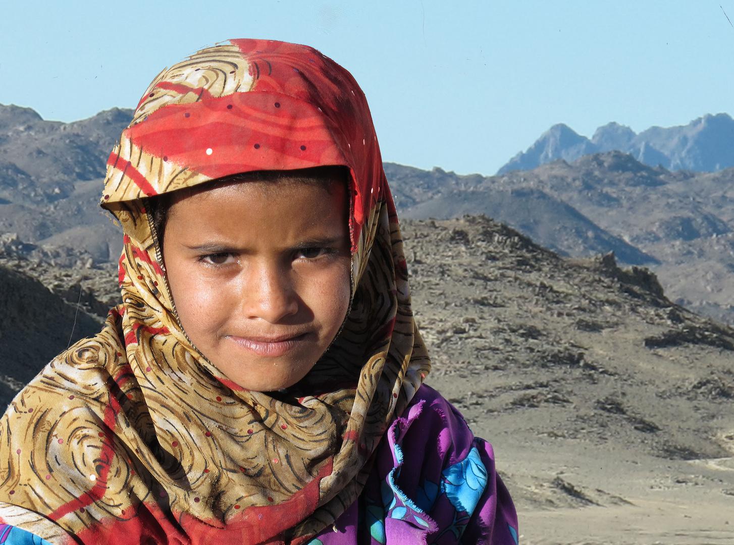 Kleine ägyptische Schönheit