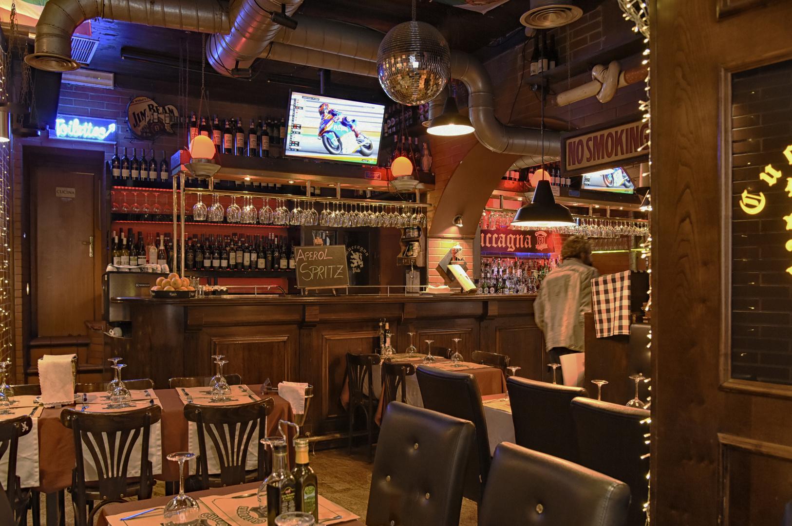 Kleine Bar in Rom - Via Della Cuccagna -