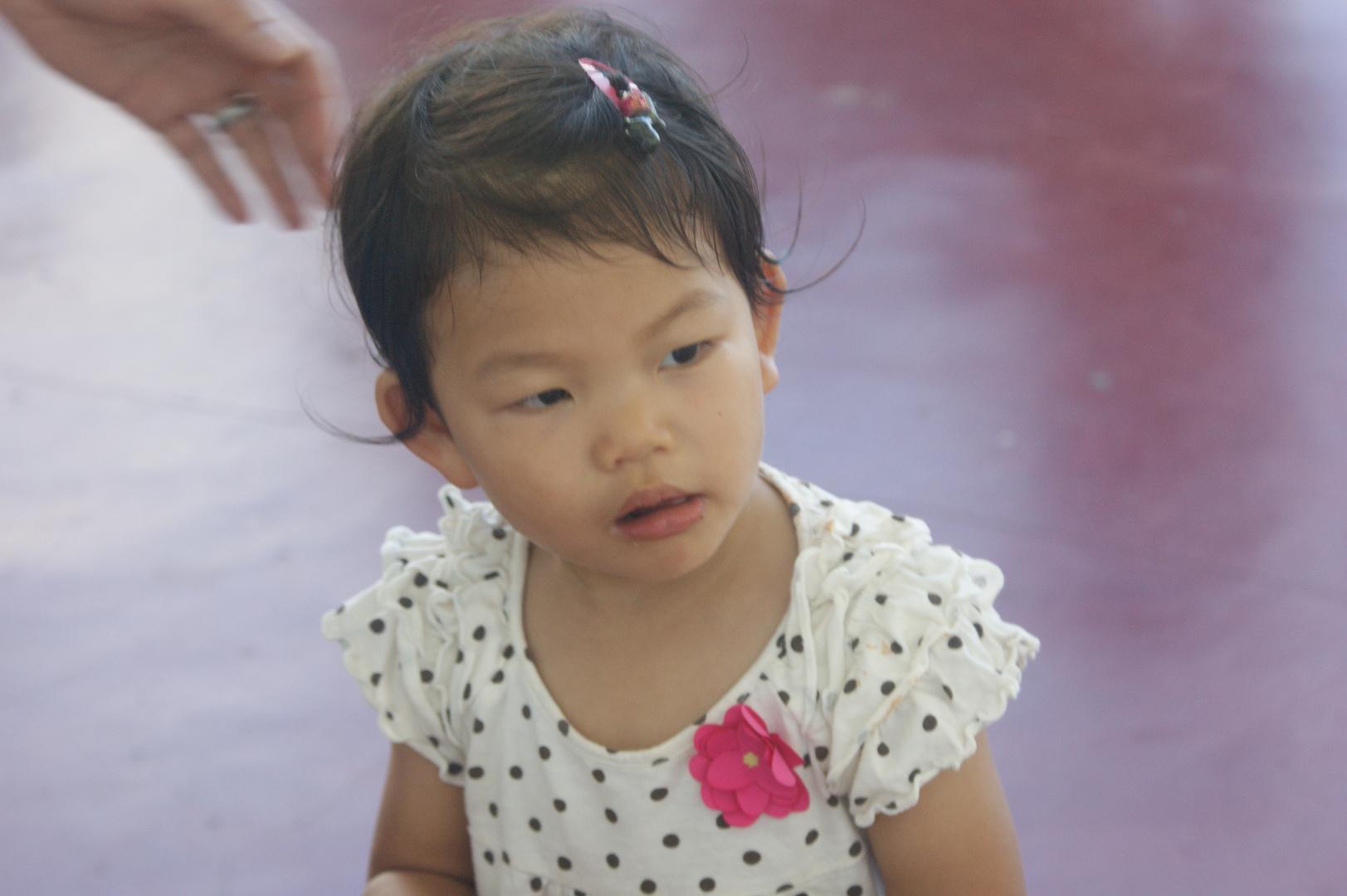 Kleine Chinesin