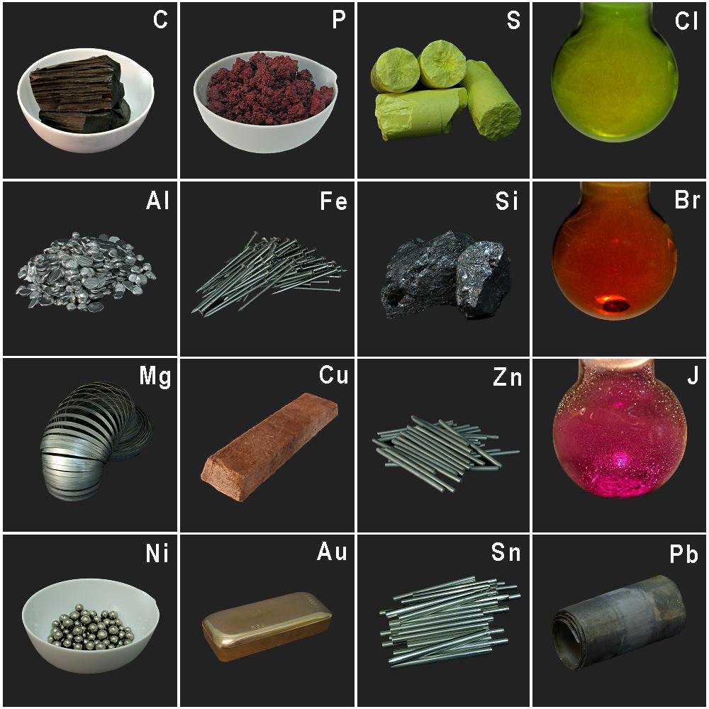 Kleine Elemente-Sammlung