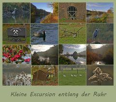 Kleine Excursion entlang der Ruhr ...