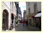 kleine Gasse in Frankreich