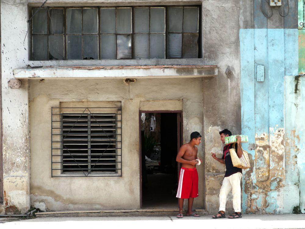 kleine Geschäfte auf der Strasse