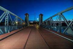 Kleine Hubbrücke in Magdeburg