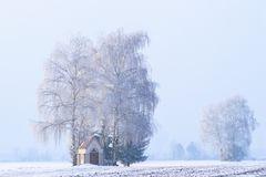 Kleine Kapelle im Winter
