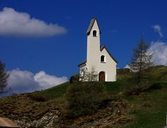 kleine Kapelle in den Dolomiten