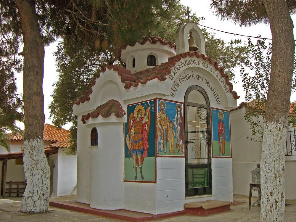 kleine Kapelle in Sarti