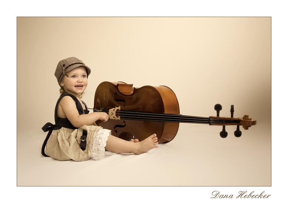 kleine musikerin